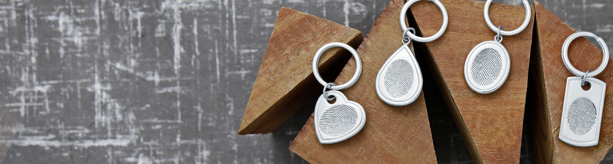 Fingerprint Keychains