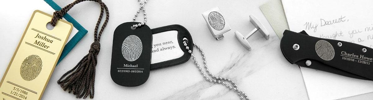 Memorial Fingerprint Keepsakes
